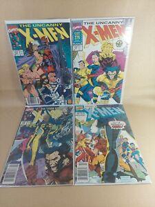 Uncanny X-Men Marvel Comic (1981 series) #272, 273, 274, 275 8.5 (VF+) or Better
