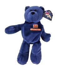 "Denver Broncos Shannon Sharpe #84 Bean Bag Bear by Pro Bears 8"" tall"
