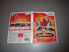 Power Rangers Samurai (Nintendo Wii, 2011) pal europa australia