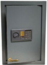 0.58 cu. ft. Wall Security Safe Durable with Electronic Lock and 2 Sets of Code