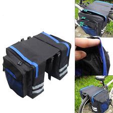 Cycling Rear Rack Seat Trunk Saddle Bike Tail Storage Pannier Pouch Bicycle Bag