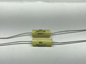 "Solen 630V Capacitance: .56 µF /""Fast/"" Metalized Polypropylene Capacitor"