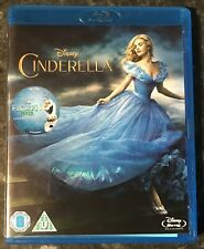 CINDERELLA DISNEY LIVE ACTION BLURAY 2015 AS GOOD AS NEW MINT CONDITION