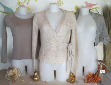 """Lot vêtements occasion femme - Haut """" Pimkie """", Gilets """" Mim """" - T : 36 / 38"""