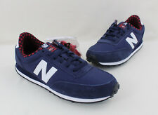 New Balance 410 NWOB Navy Synthetic Suede Lace Up Sneakers Size 8