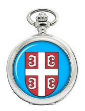 Serbian Cross Pocket Watch