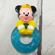 New listing Vintage Disney Toy 1984 Vtg Teething Teether Chew Ring Baby Mickey Mouse Used