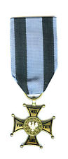 POLAND ORDER OF VIRTUTE MILITARE 1918 4TH CLASS BADGE, TYPE 3