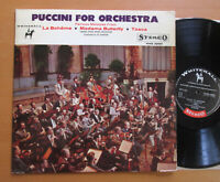 WHS 20051 Puccini For Orchestra Vienna State Opera NEAR MINT Whitehall Stereo LP