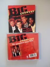 BIG COUNTRY - THE GREATEST HITS LIVE -  CD