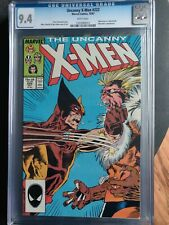 The Uncanny X-Men #222 (1987 Marvel)Marc Silvestri Wolverine Vs Sabertooth Cover