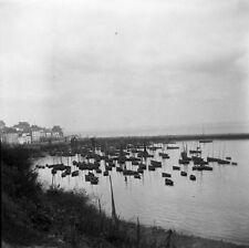 DOUARNENEZ c. 1900 - Grand Négatif Finistère Bretagne - FD 6