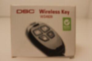 DSC WS4939 Wireless 4-Button Remote Alarm Keyfob