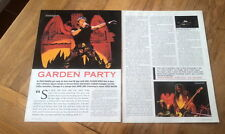 IRON MAIDEN / BLAZE BAYLEY 7 page magazine ARTICLE / clipping