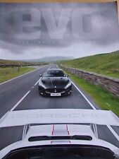 EVO MAGAZINE SEP 2011 NEW 911 PORSCHE 961 RACER PAGANI HUAYRA FIRST RIDE EXCLUSI