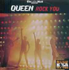QUEEN: ROCK YOU - LIVE: PROMO CD ALBUM (2009) 14 tracks INC WE WILL ROCK YOU OST
