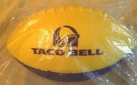 LSU COLORS----NEW IN BAG TACO BELL Purple & Gold  Foam Football Collectors Item