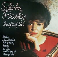 SHIRLEY BASSEY Thoughts Of Love LP Vinyl Record Album United Artists 1976 1st
