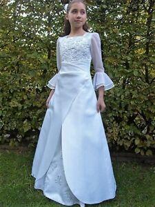 Kommunionkleid Kommunionskleid Gr. 152 Blumenmädchenkleid Mädchenkleid *76