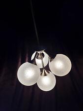 Ancien lustre SPOUTNIK 40er 50er Ans old lamp 40 s 50 s Chandelier Lustre Fil