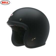 Bell Custom 500 STD Negro Mate Abierta Cara Casco de Motocicleta Entrega Rápida y gratis