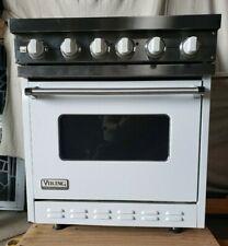 Viking VDSC305-4BWH 30 Inch Pro-Style Dual-Fuel Range, White
