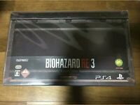 Resident Evil 3 BIOHAZARD 3 Japanese COLLECTOR'S EDITION PS4 with game NO FIGURE