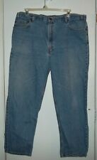 USED  LEVIS 540 RELAXED ORANGE TAG JEANS SIZE 44 X 28.5