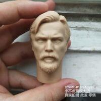 Free Shippin 1/6 scale Head Sculpt ObiWan Kenobi Jedi Knight Star Wars unpainted