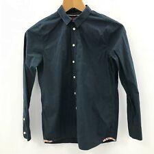 Paul Smith Junior Shirt Size 12 Years Regular Blue Boy's Smart Buttoned 342085