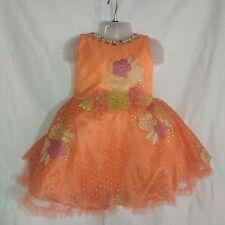 TRENDY CUTE BABY GIRL PRINCESS KIDS PARTY SLEEVELESS DRESS GALAXY PRINT