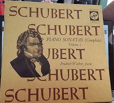 Vox Box #9 Schubert Piano Sonatas Vol 1 NM/VG+