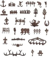 Cast Iron Hooks - Antique Looking - Various Designs to Choose From - UK Seller