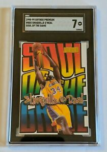 Shaquille O'Neal 1998-99 Skybox Premium Soul Of The Game SGC 7 (LN)