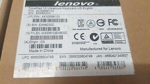 Genuine Lenovo Thinkpad 10 Ultrabook Keyboard US 4X30E68103 Brand New See Pics