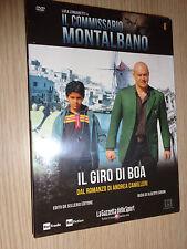 DVD N° 8 COMMISSARIO MONTALBANO IL GIRO DI BOA LUCA ZINGARETTI CAMILLERI