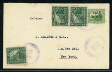 Nicaragua Postal Stationery PSE - H&G #81 1915 Early Use SAN JUAN DEL SUR NYC $$