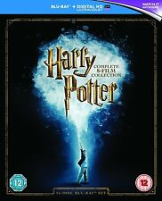 Harry Potter 8 Film Collection Movies 1 2 3 4 5 6 7 & 8 New Blu-ray Region Free