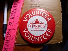 Button Pin Columbus Ohio German Village LGBT Oktoberfest Max & Erma's party