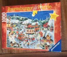 Ravensburger Limited Edition 1000 Piece Puzzle Called Christmas Fair