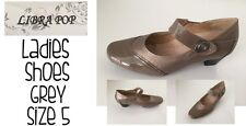 Womens Shoes Grey Size5 Libra Pop Brand New FREE DELIVERY