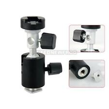 360° Ball Head Umbrella HoleShoe Mount Flash Mount/Holder/Bracket Tripod C Stand