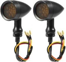 For Honda Shadow VT750 VT1100 Bullet Motorcycle LED Turn Signals Blinker Light A