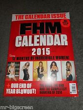 FHM MAGAZINE - THE 2015 CALENDAR ISSUE - KEELEY HAZEL - BRAND NEW & SEALED