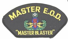"MASTER EOD EXPLOSIVE BOMB SQUAD 5"" EMBROIDERED MILITARY PATCH"