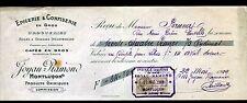 "MONTLUCON (03) EPICERIE & CONFISERIE ""JOYAU & RAMOND"" en 1909"