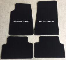 Autoteppich Fußmatten für Chevrolet Camaro Coupe weiss Nubuk Velours ab 2016