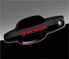 Honda Decal For Wheels and Door Handle Logo Vinyl Stickers Graphics - 8pcs set