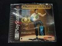 Fighter Maker (Sony PlayStation 1, 1999) Brand New Factory Sealed