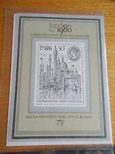 Oferta de venta al por mayor de 1980 GB Londres 1980 M/U/M Hoja X 10 bajo valor nominal y Gratis P&P